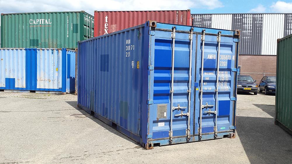 gebruikte zeecontainer kopen